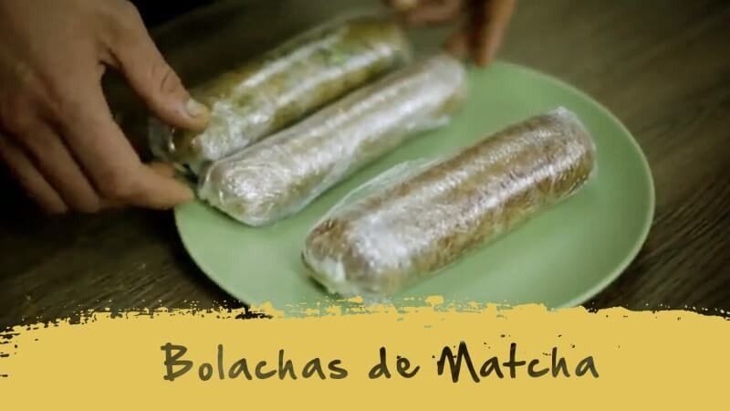 Bolachas de Matcha