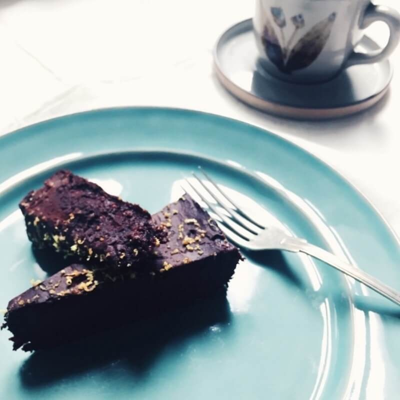Brownie de Chocolate Cru