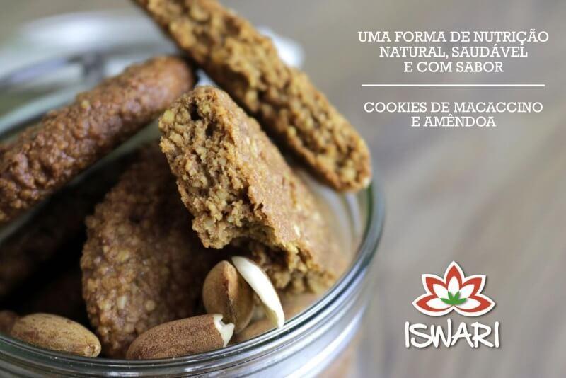 Cookies de Macaccino e Amêndoa