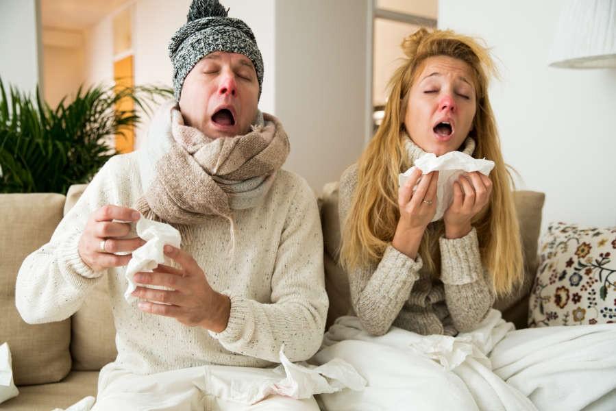 Raffreddore e Influenza: 5 modi per guarire in fretta