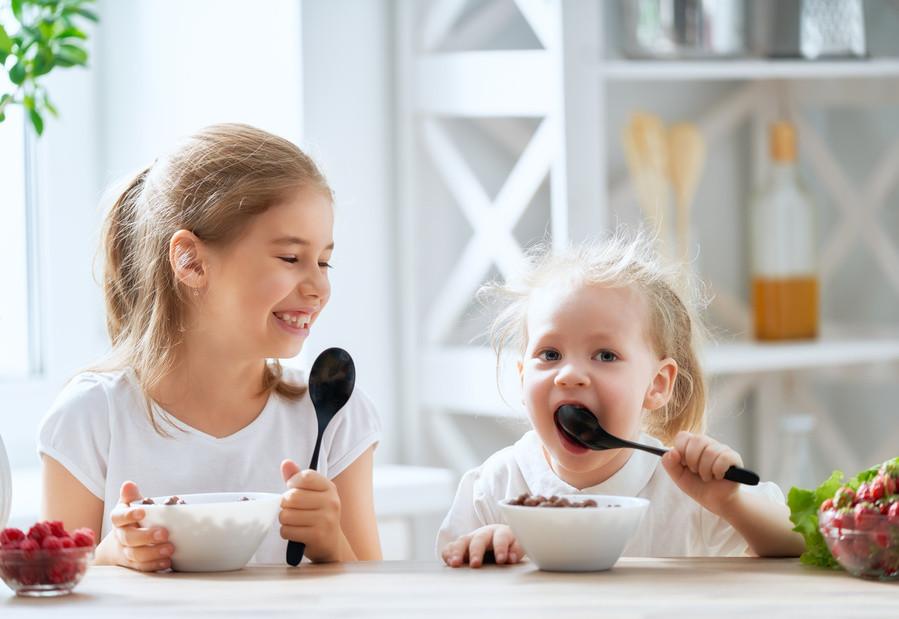 Guia de pequeno-almoço para crianças