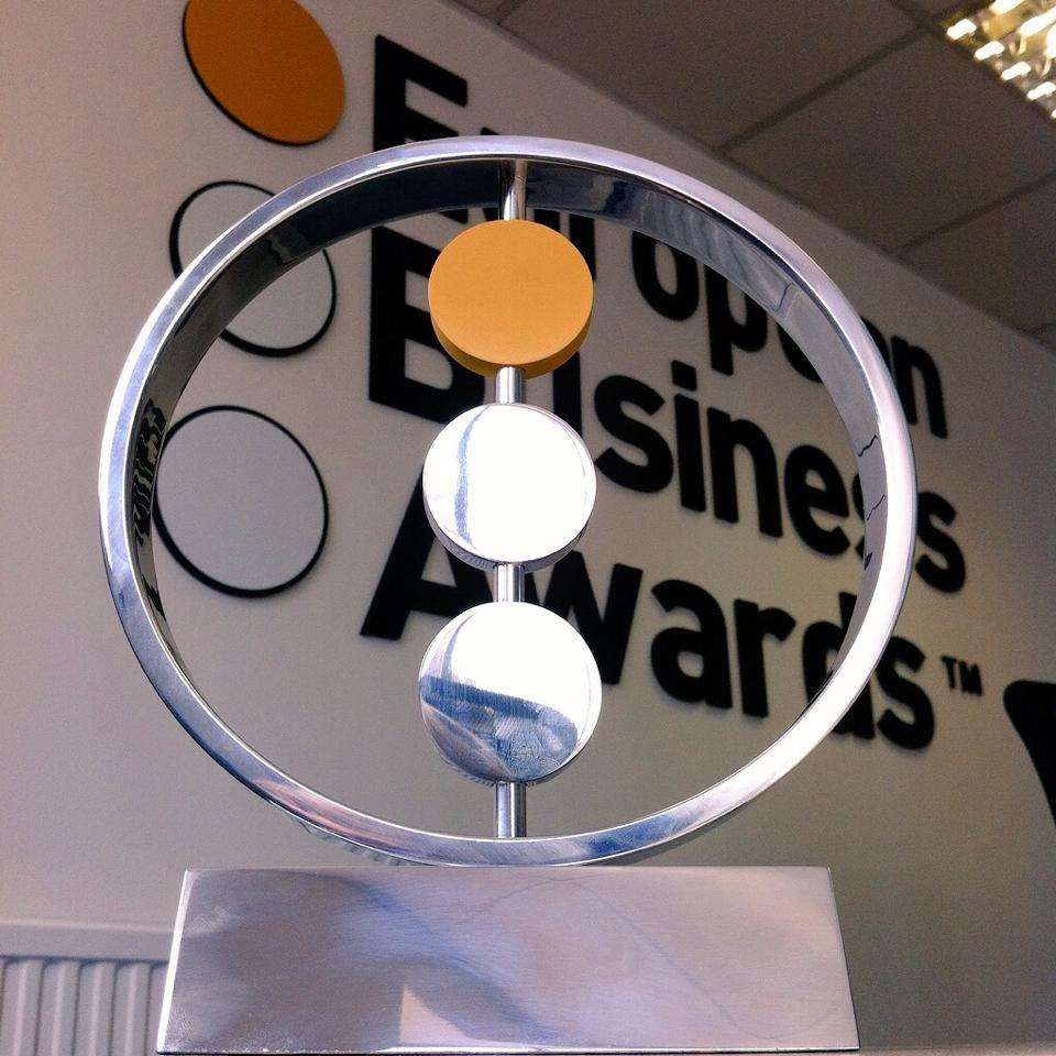 Iswari Nomeada Para Os European Business Awards!
