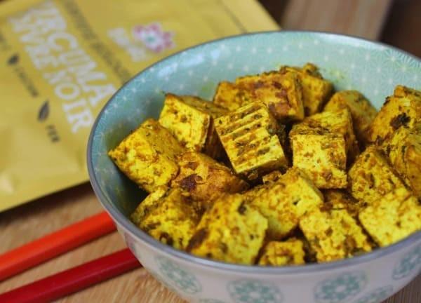 Tofu Curcuma & Poivre Noir