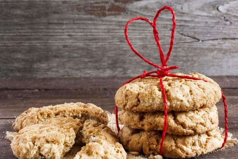 Biscotti Divini di Anacardi e Limone