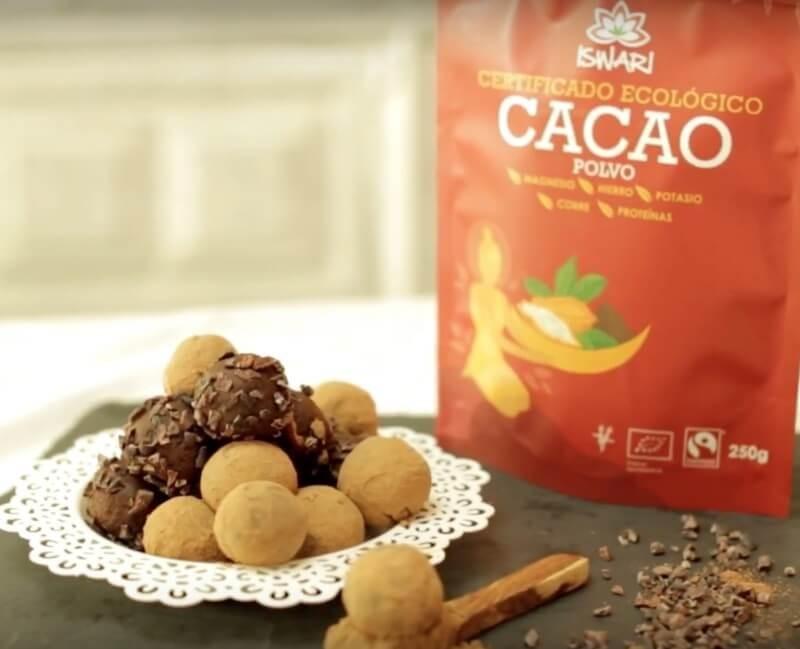 Trufas de Cacao