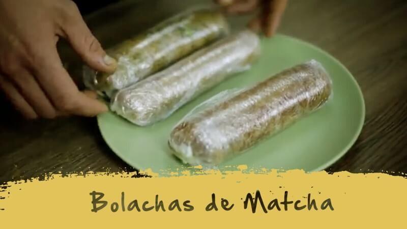 Biscotti al Matcha