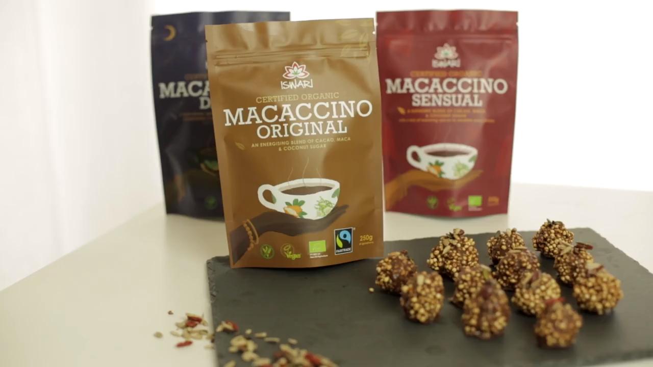 Macaccino Crispy Balls