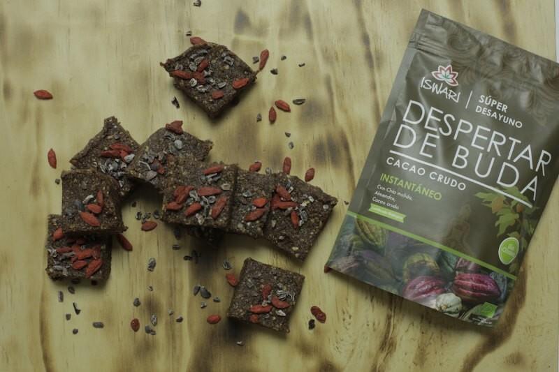 Brownies di Risveglio di Buddha Cacao