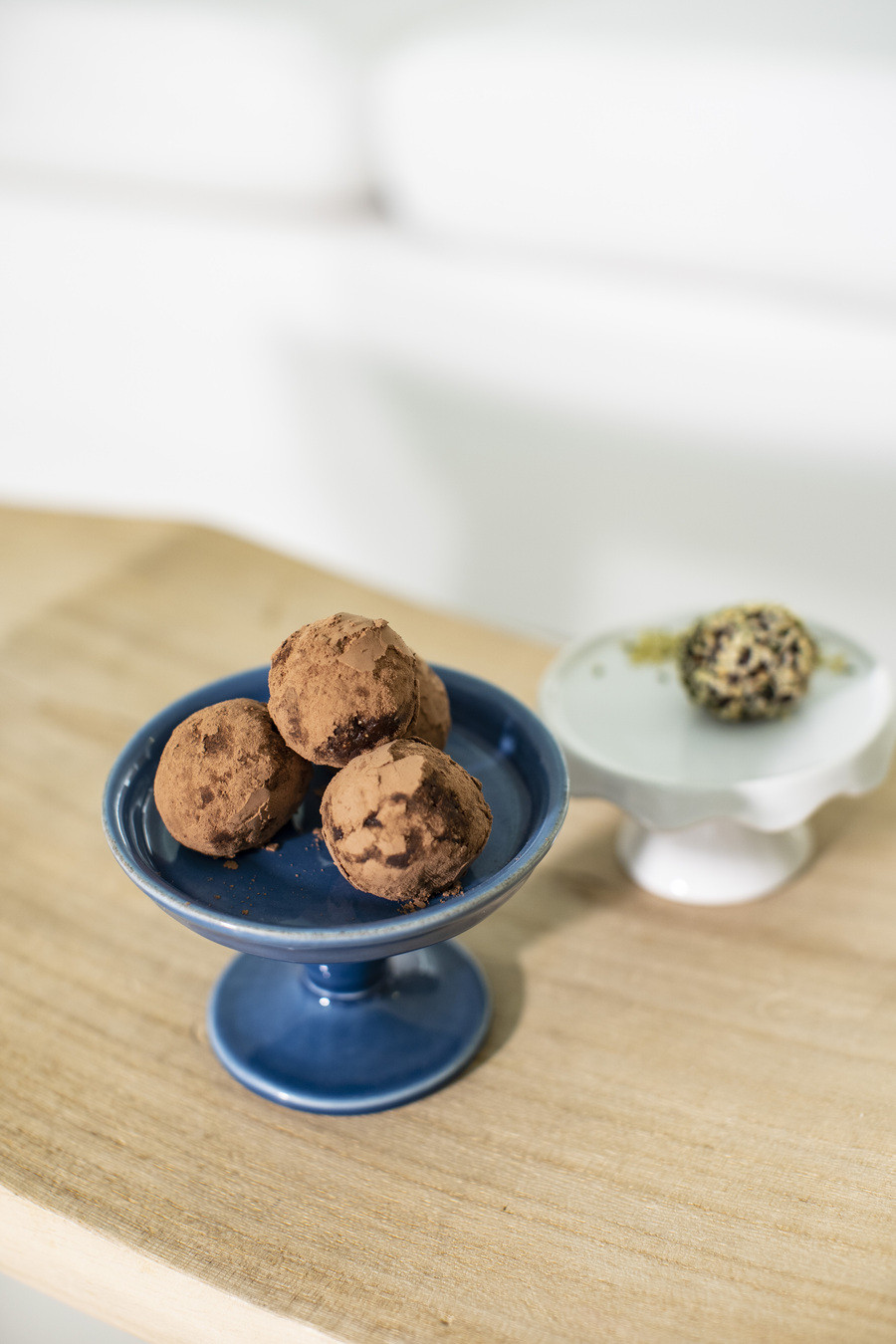 Bliss Balls Cocoa and Hemp Seeds