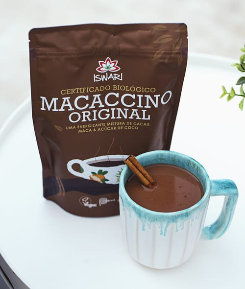 Salted Peanut Butter Hot Macaccino