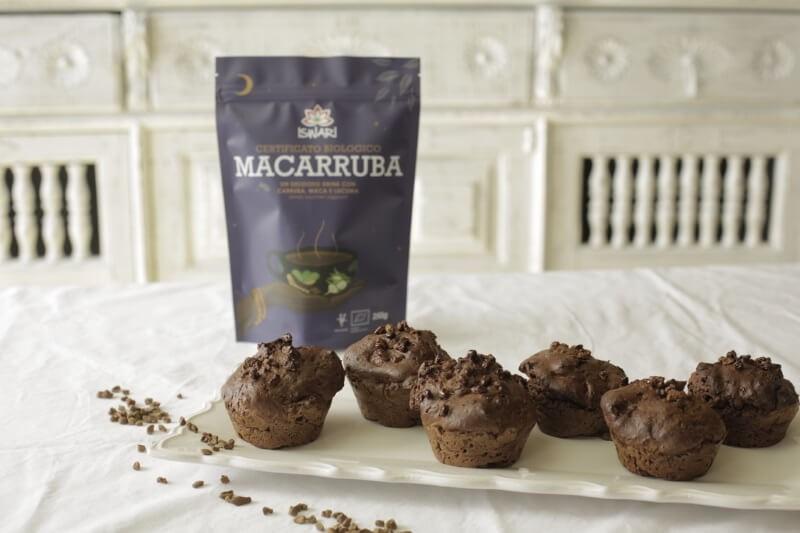 Muffins de Macarroba