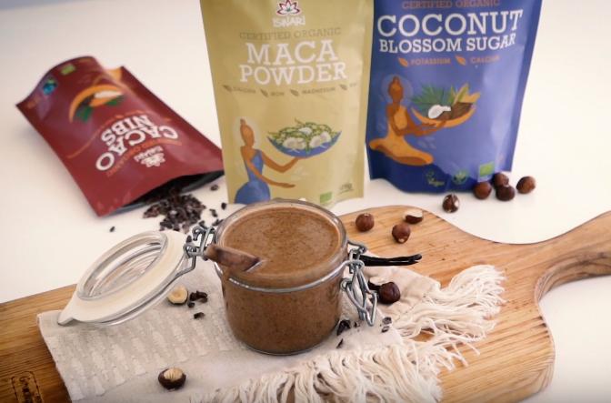 Cacao & Maca Hazelnut Butter