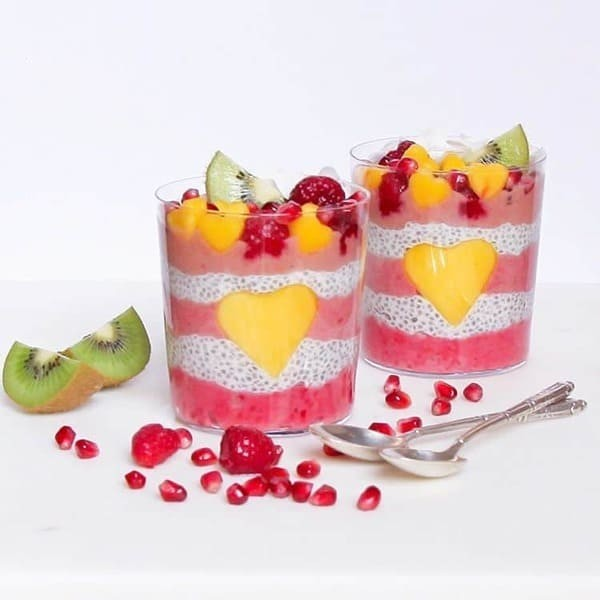 Valentine's Week - Recette Smoothie + Pudding Chia Et Coco