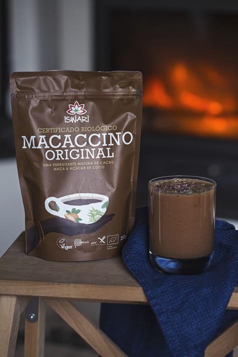 Mousse Macaccino C/ Frutos Vermelhos