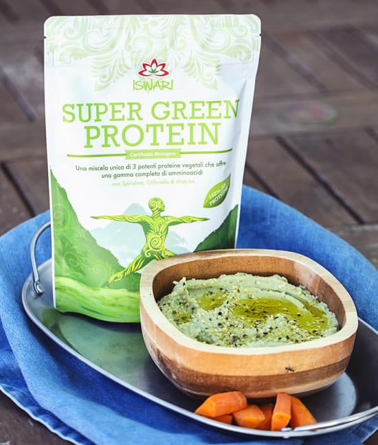 Hummus Di Proteine Verdi