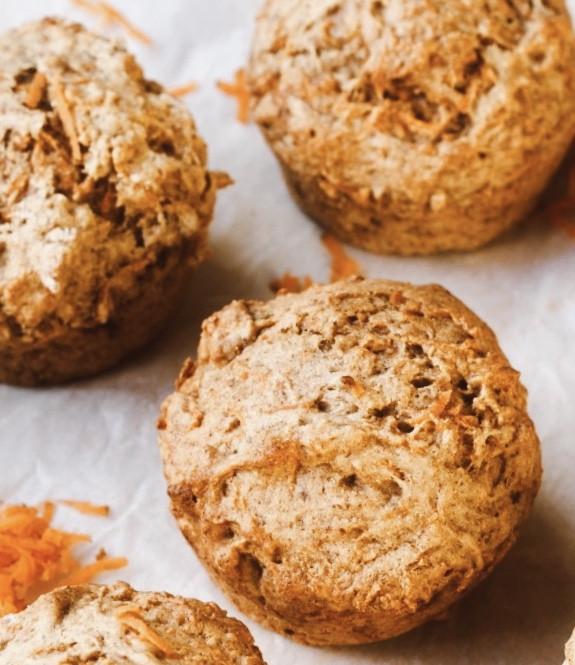 Muffins de Cenoura, fáceis de fazer!