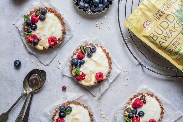 Lemon Breakfast Tartlets