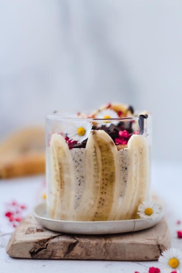 Overnight de Aveia Divina de Amendoim e Banana