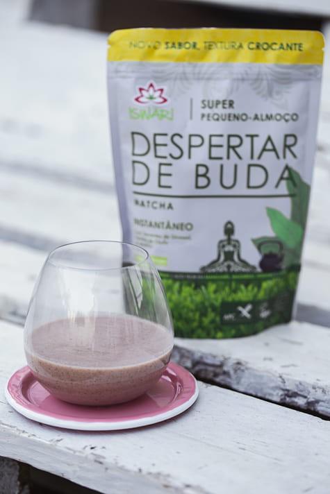 Batido Despertar De Buda De Matcha C/ Bebida De Côco