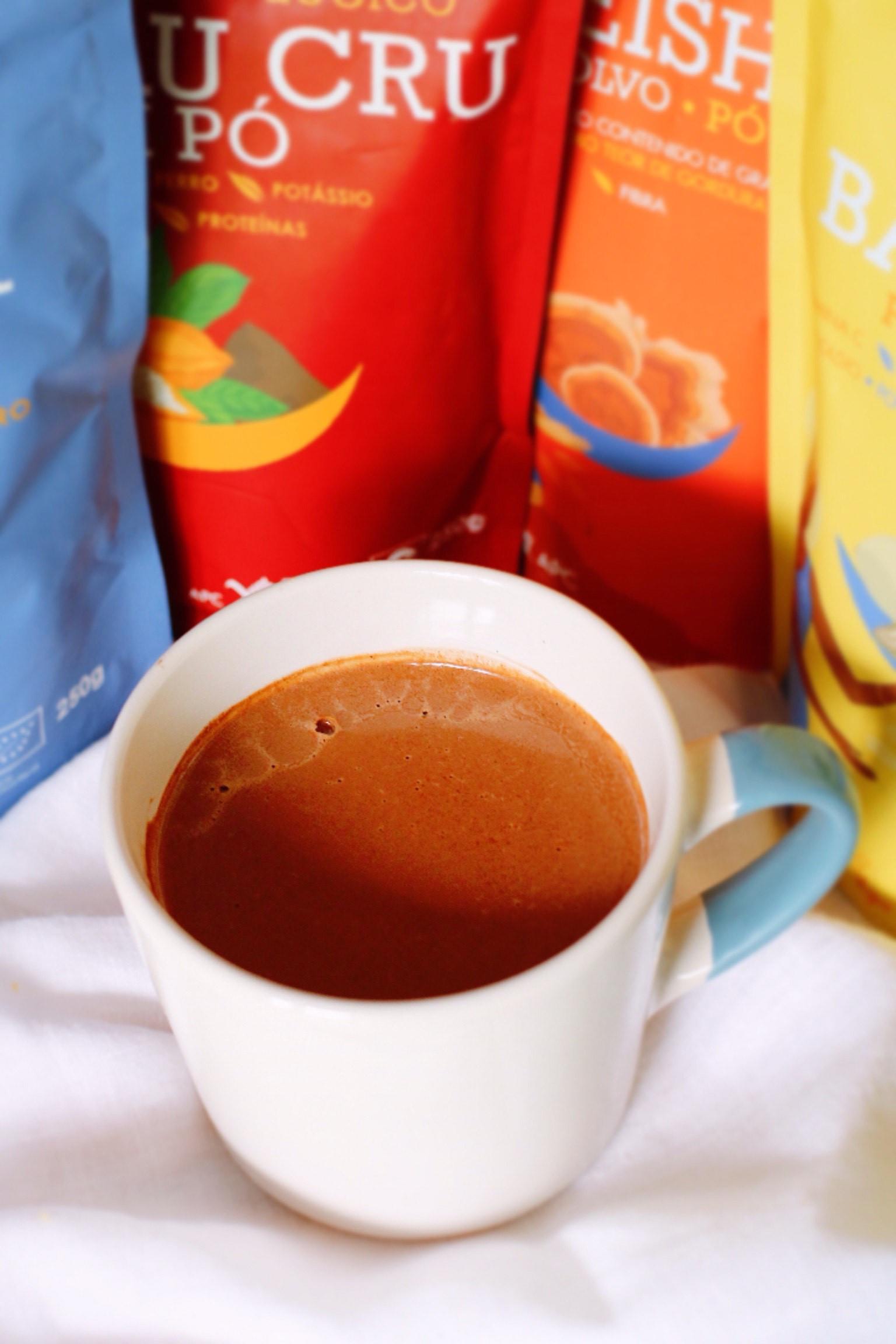 (O melhor) Latte de Cacau e Reishi