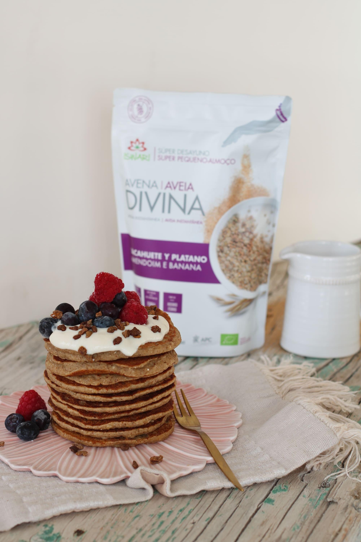 Pancakes di Avena Divina