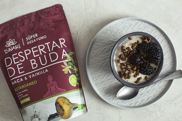 Yogur Vegetal De Avena Con Despertar Buda Maca & Vainilla