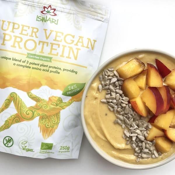 Peachy Protein Nicecream