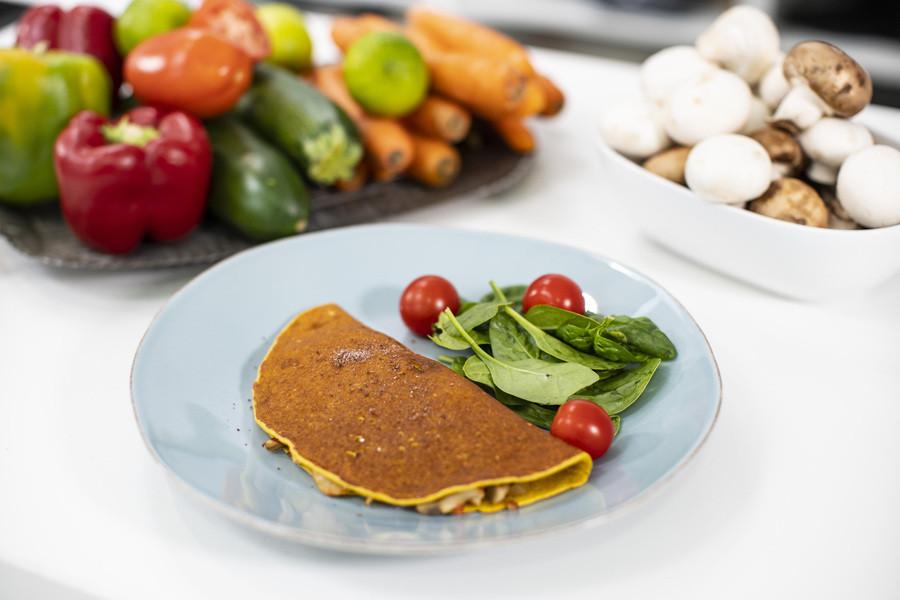 Omelette Vegane