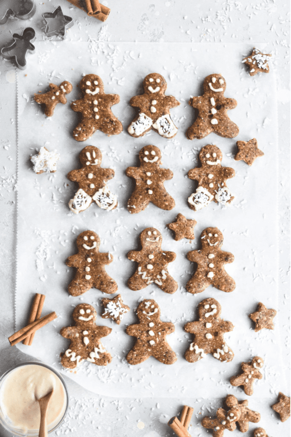 No-bake Gingerbread Men