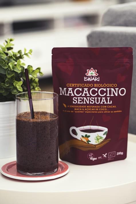 Creamy Macaccino Sensual Blueberry Shake