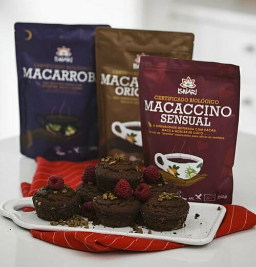 Muffins de Macaccino Sensual