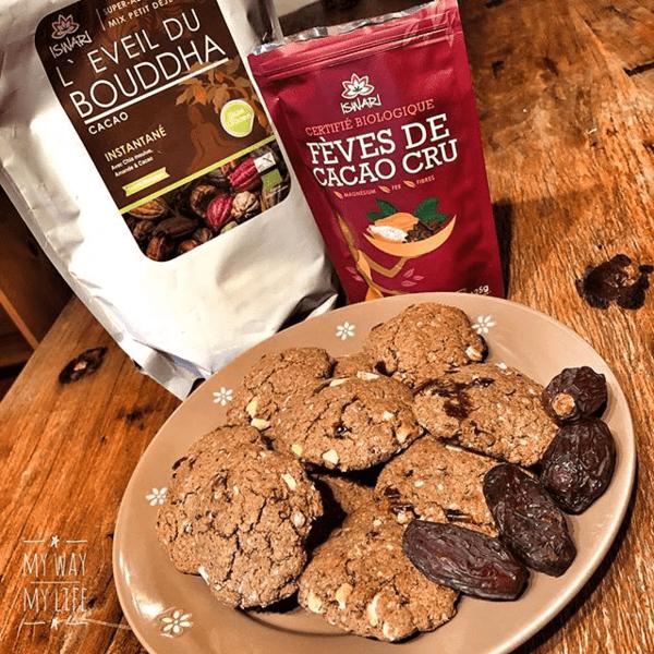 Cookies Aux Dattes Et Noix De Cajou Sans Gluten.