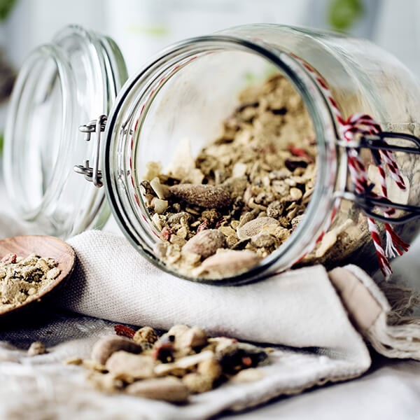 Cashew Nuts Of Golden Sesame