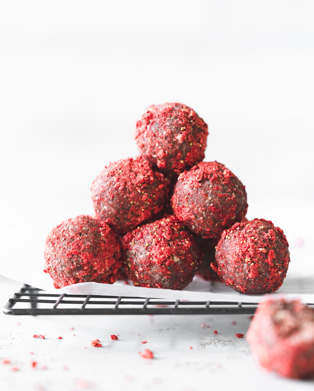 Healthy Berry Bliss Balls