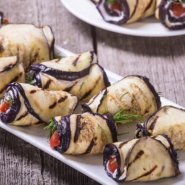 Cannelloni Aux Aubergines, Lentilles Et Épinards