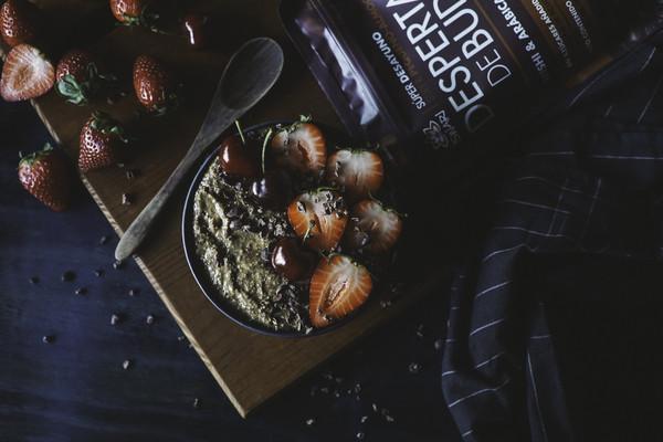 Porridge Cremoso Reishi e Arábica