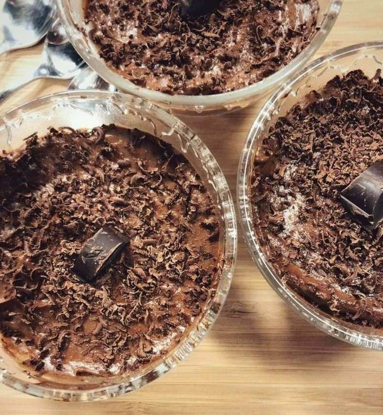 Mousse di Castagna e Cacao
