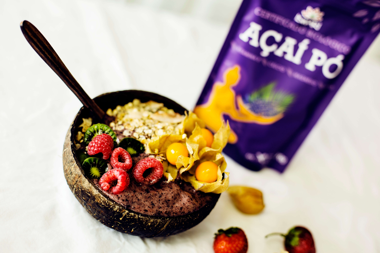Bowl de Açaí e Frutos Silvestres