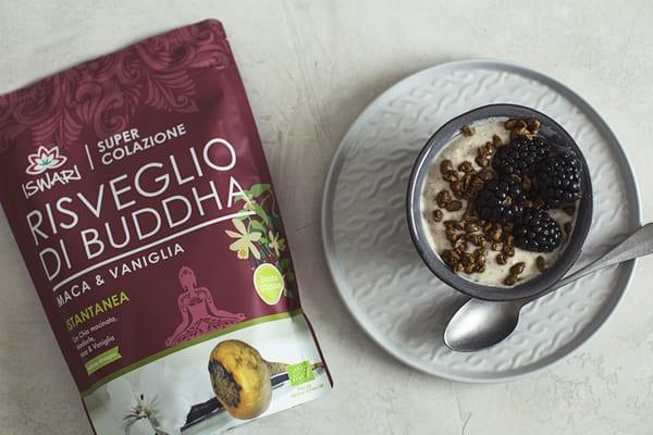 Yofu Di Avena Con Risveglio Di Buddha Maca & Vaniglia