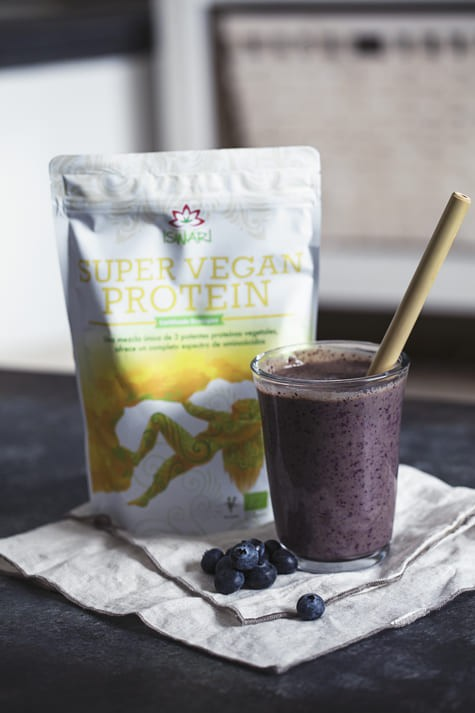 Smoothie Super Vegan Con Frutos Rojos