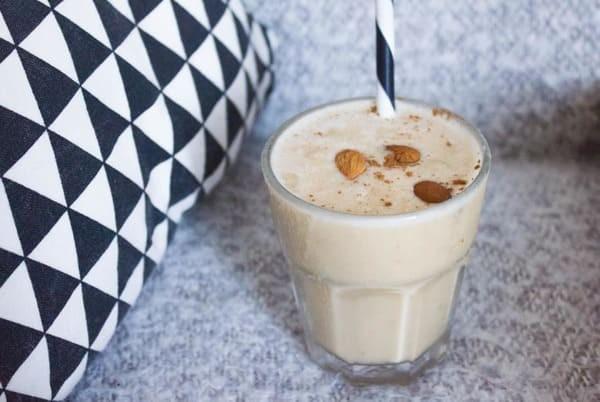 Milkshake Amande, Banane, Maca