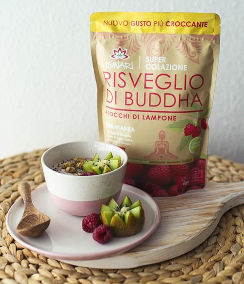 Yofu Di Cocco Con Risveglio Di Buddha Lamponi