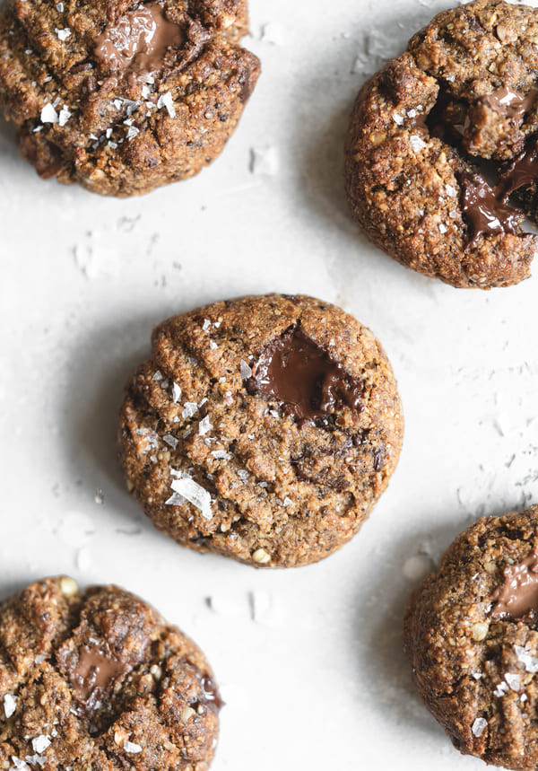Maca Vanilla Chocolate Chip Cookies