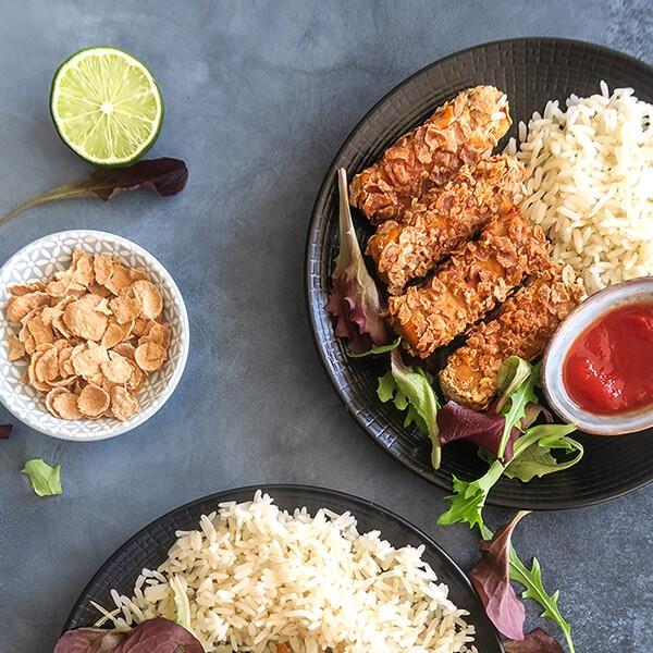 Croquetes De Tofu No Forno