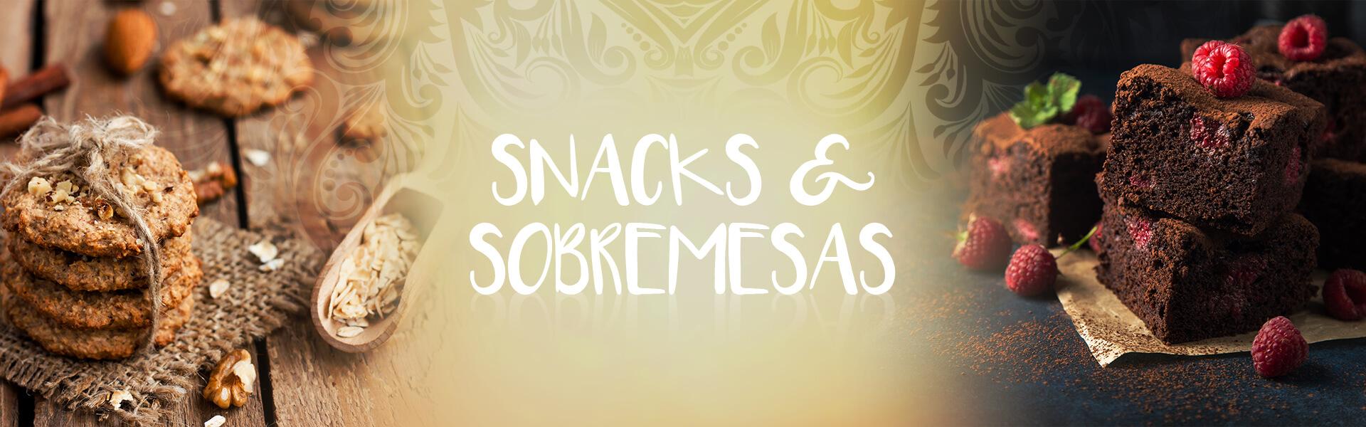 Sobremesas e snacks
